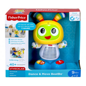 Nieuw Fisher-Price BeatBo Dance & Move Lärande Robot - PysselMajas Stall VE-37