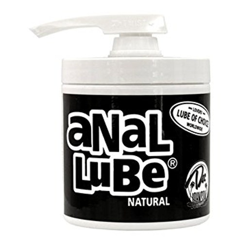 Anal Lube Natural Pump Dispenser