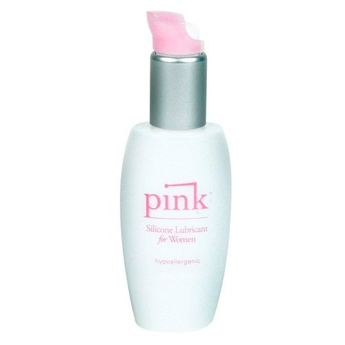 Pink Silicone Lubricant for Women 1.7