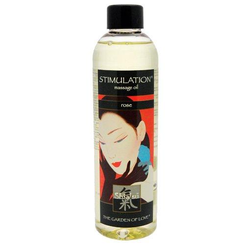 Shiatsu Massage Oil Stimulation