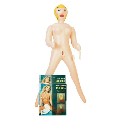 Holed Sex Doll with Glowing