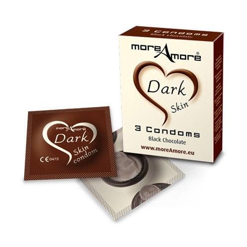 More Amore Condom Dark Skin 3 pcs