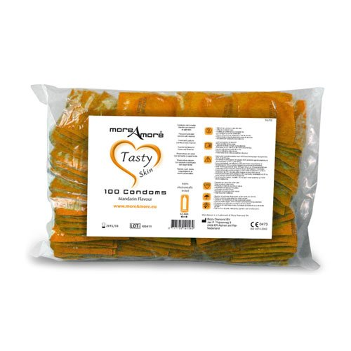 More Amore Mandarin Condoms 100 Pack