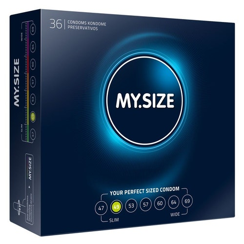 MY SIZE 49 Condom 10 Pack
