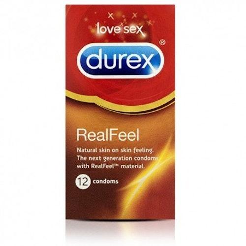 Durex Real Feel 12 Condoms