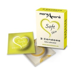 More Amore Condom Soft Skin 3 pcs