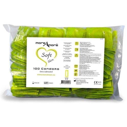 More Amore Condom Soft Skin 100 pcs