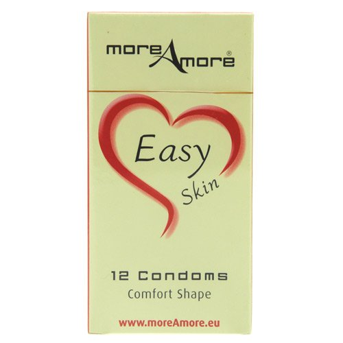 More Amore Easy Skin Condoms 12 Pack