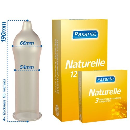 Naturelle Condoms 3 Pack