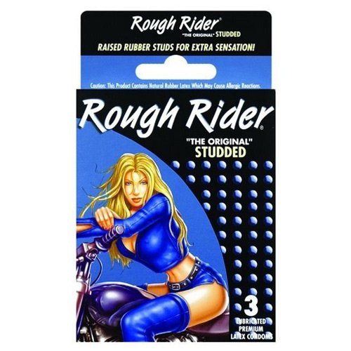 Rough Rider Studded Condoms 3 Pack