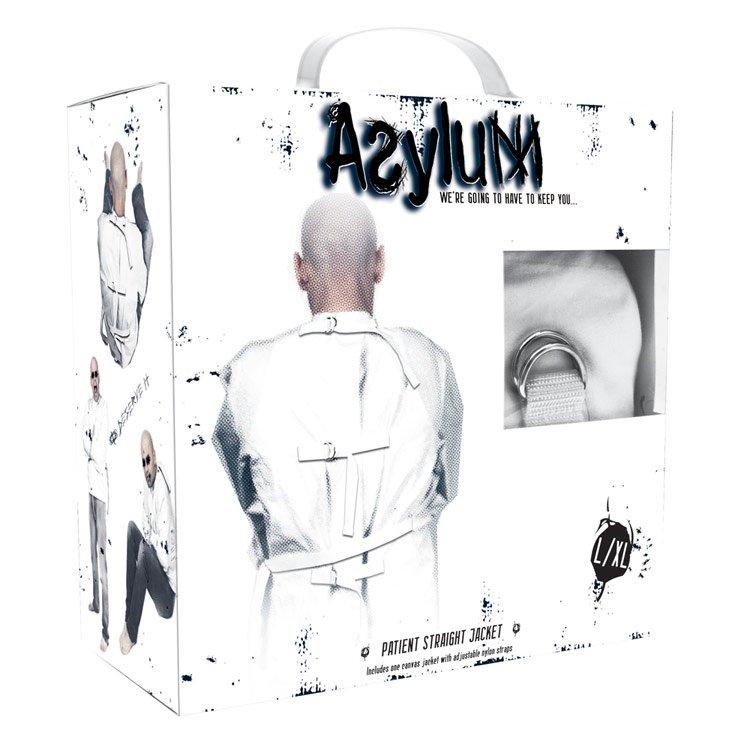 Asylum Patient Straight Jacket Large XL