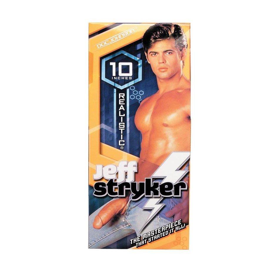 Jeff Stryker Realistic Dildo Vibrating
