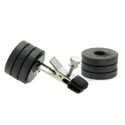 Nipple Clip with Magnet Weights