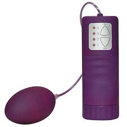 Velvet Purple Pill Vibrating Egg