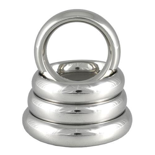 Metal Donut Cock Ring