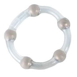 Metallic Bead Cock Ring