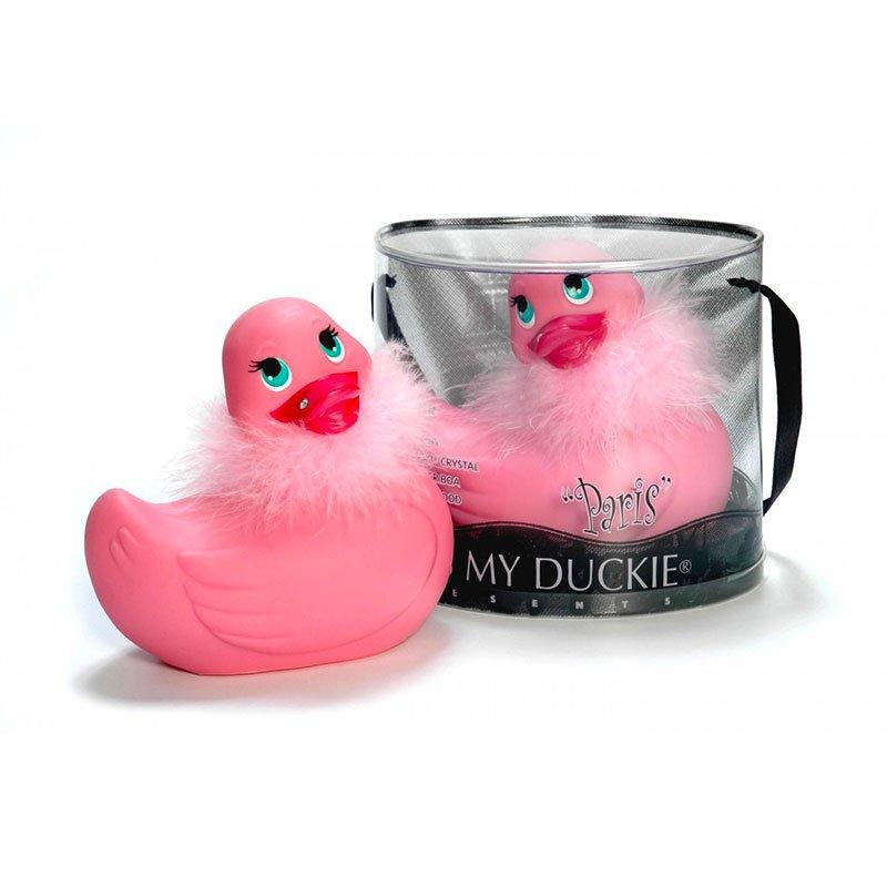 I Rub My Paris Duckie Pink