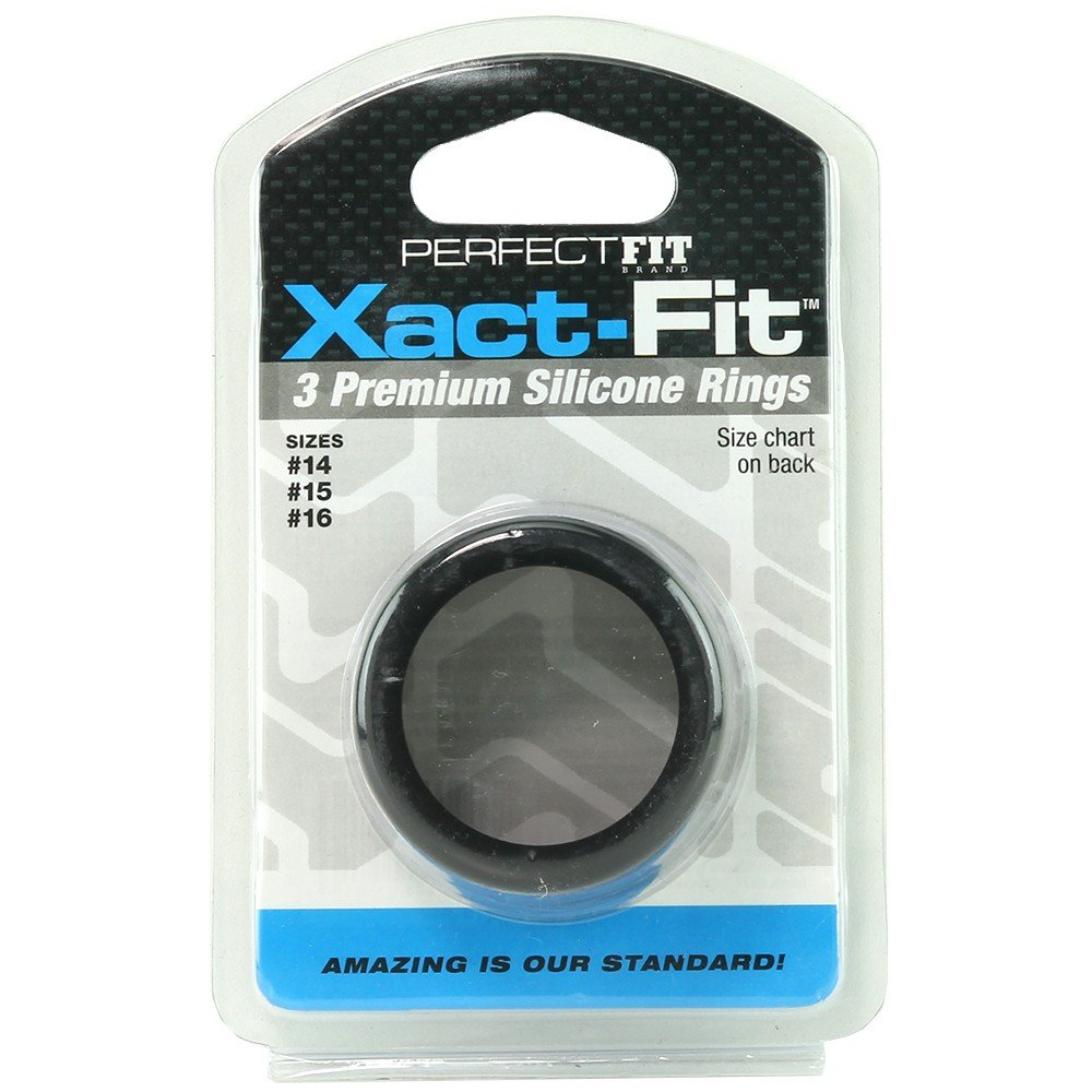 Perfect Fit Xact-Fit Cockring Sizes 14, 15, 16