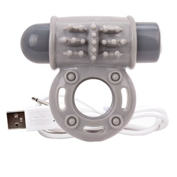 Screaming O O Wow Rechargeable Vibrating Cock Ring