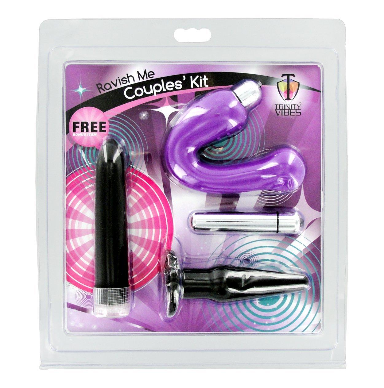 Ravish Me Couples Vibrator Kit