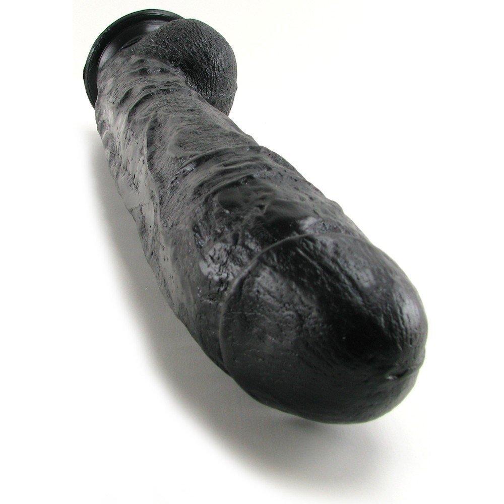 Dick Rambone Gigantic Black Dildo