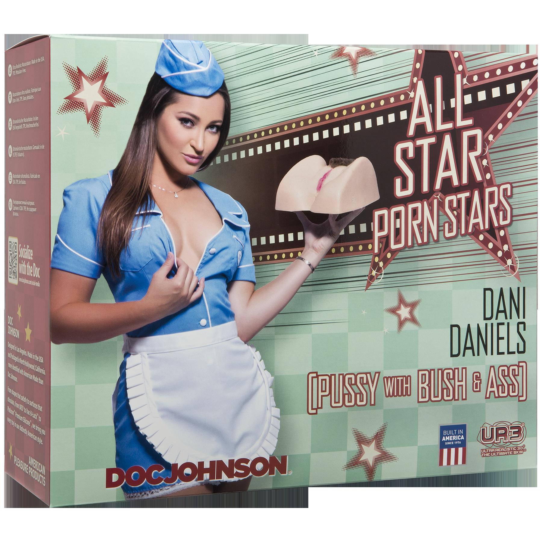 Dani Daniels Pussy and Ass