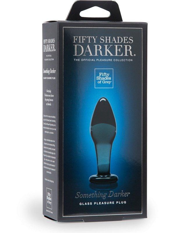 Fifty Shades Darker Something Darker Glass Pleasure Plug