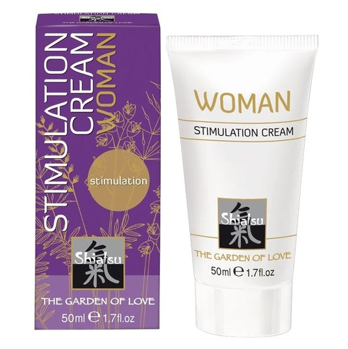 Shiatsu Geisha Dream Stimulation Cream