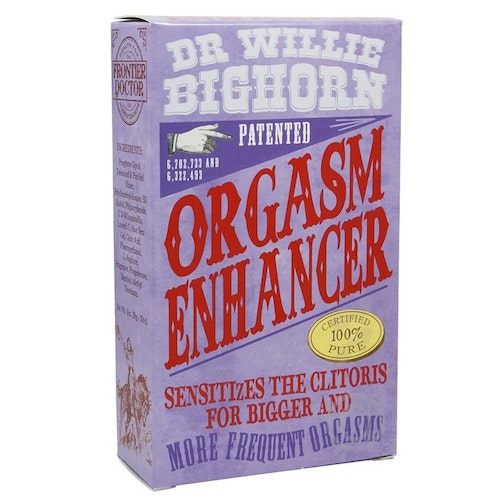 Dr Willie Bighorn Orgasm Enhancer For Her