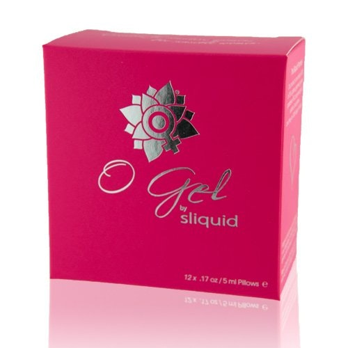 Sliquid O Gel Lube Pillow Pack