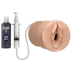 Squirting Pussy Stroker