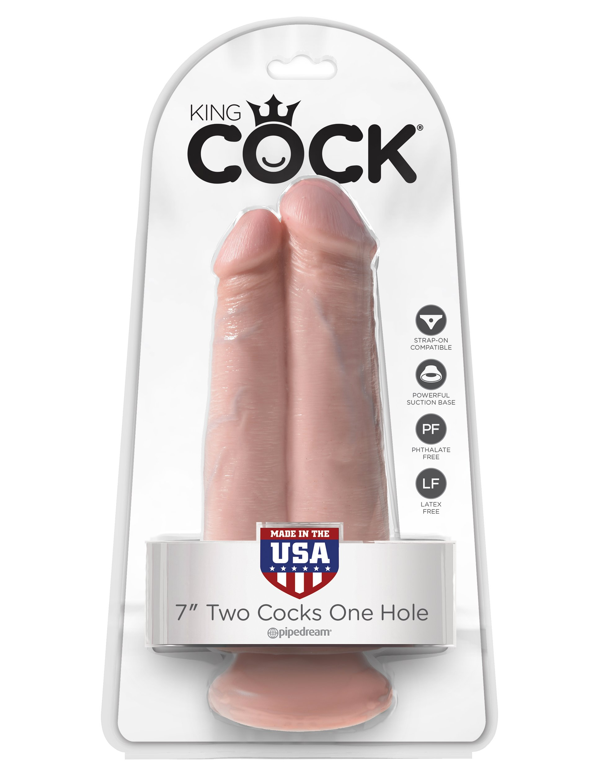 King Cock Two Cocks One Hole