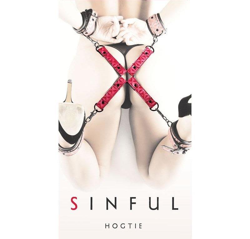 Sinful Bondage Hogtie