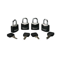 Steel Masterlocks 4 Pack