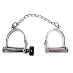 Rouge Stainless Steel Wrist Shackles