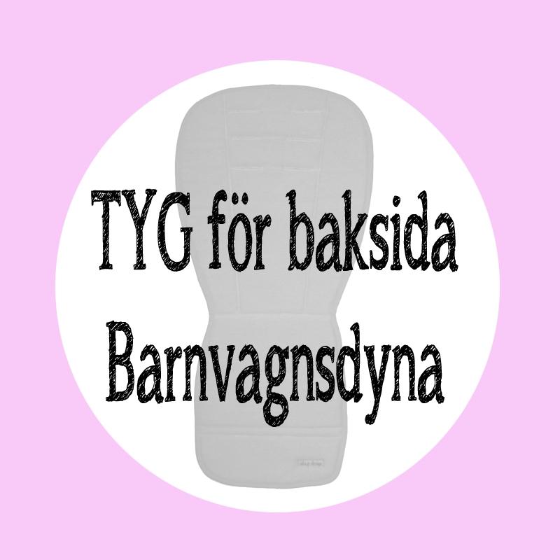 Tyg för baksida Barnvagnsdyna - ida.p design