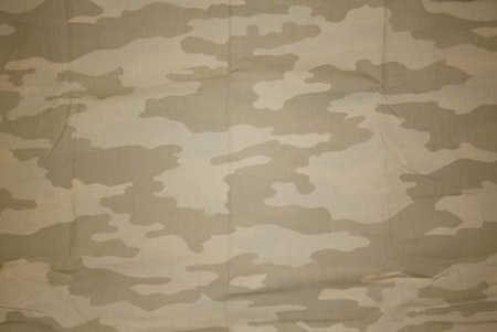 Tyg Camouflage Sand Solskärm / Bältesmuddar