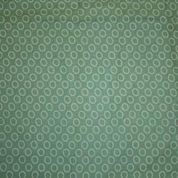 Tyg Gröngrå Cirklar Solskärm / Bältesmuddar