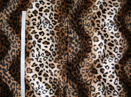 Tyg Leopard Solskärm / bältesmuddar