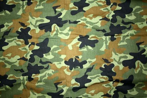 Tyg Camouflage Grönt Bältesmuddar
