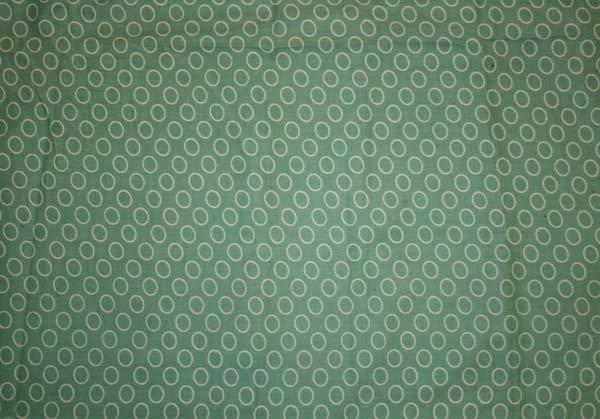 Tyg Gröngrå Cirklar Bältesmuddar