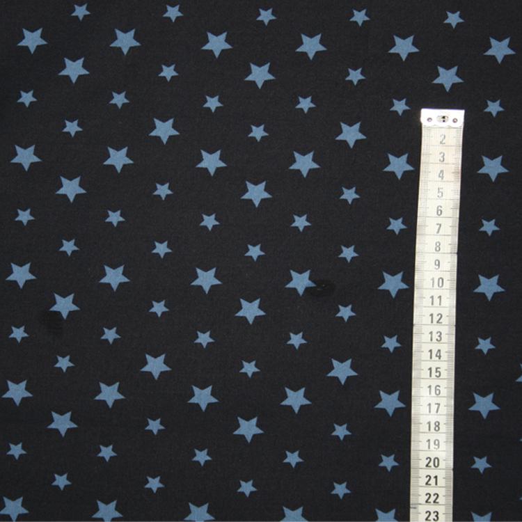 Marinblå med blå stjärnor Bältesmuddar