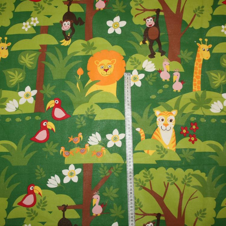 Tyg Grön djungel Bältesmuddar