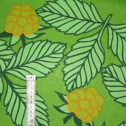 Tyg Retro Grönt med hjortron Bältesmuddar
