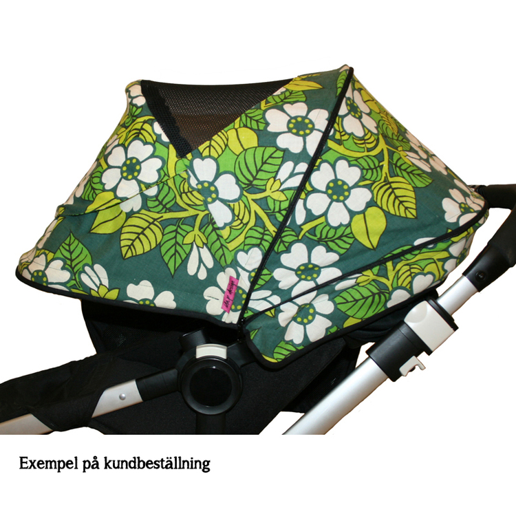 Bugaboo Buffalo sufflett grön blommig