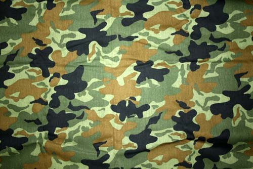 Tyg Camouflage Grönt
