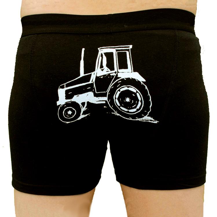 kalsonger med valmet traktor