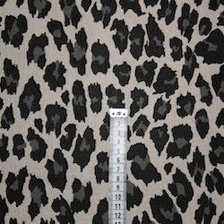 Tyg Leopard Beige Solskärm