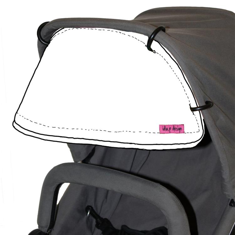 Sömnad av solskärm till barnvagnar