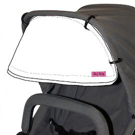 Sömnad av Solskärm / Solskydd för barnvagn Välj tyg eller skicka eget
